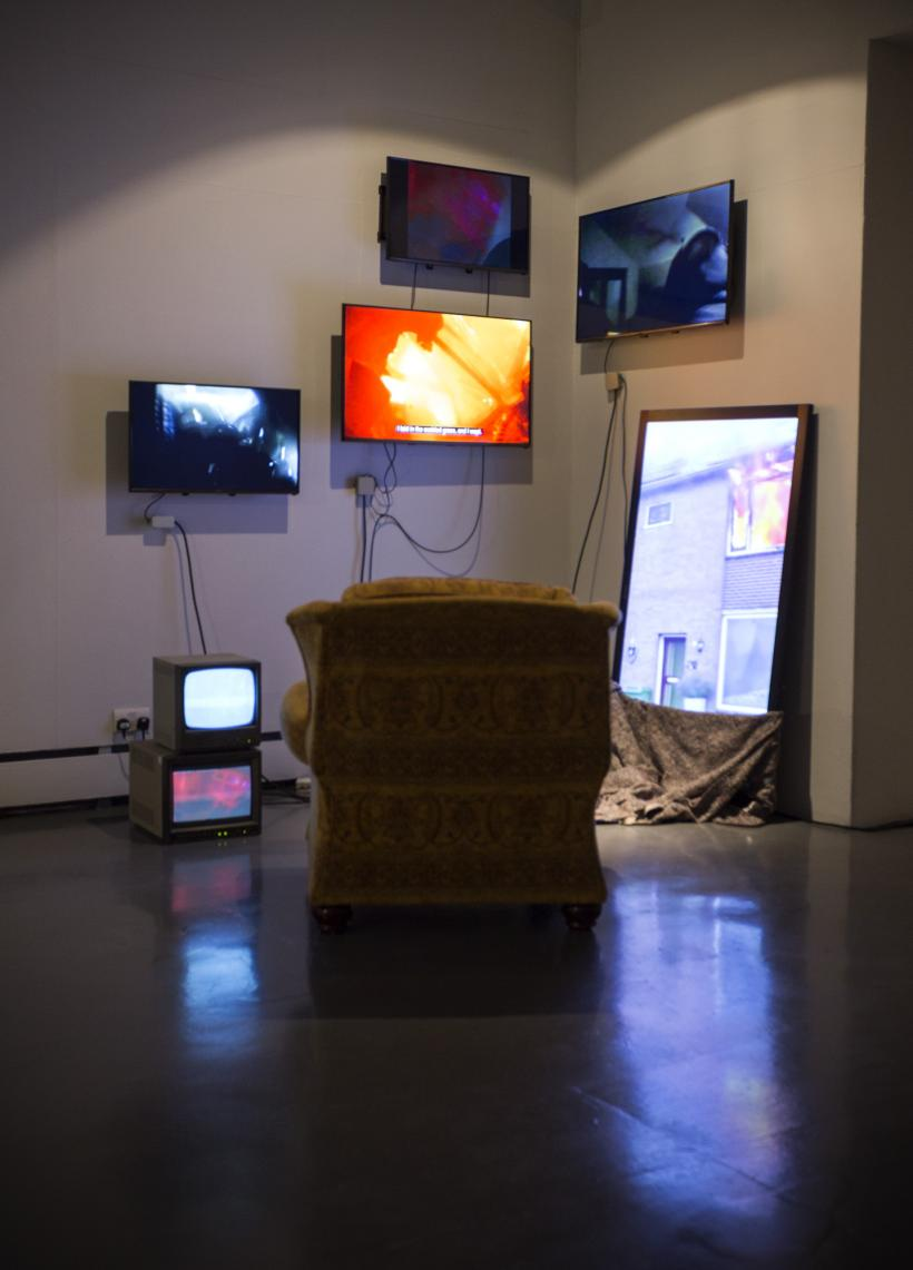 Wysing Arts Centre, more of an avalanche, installation view, 2018