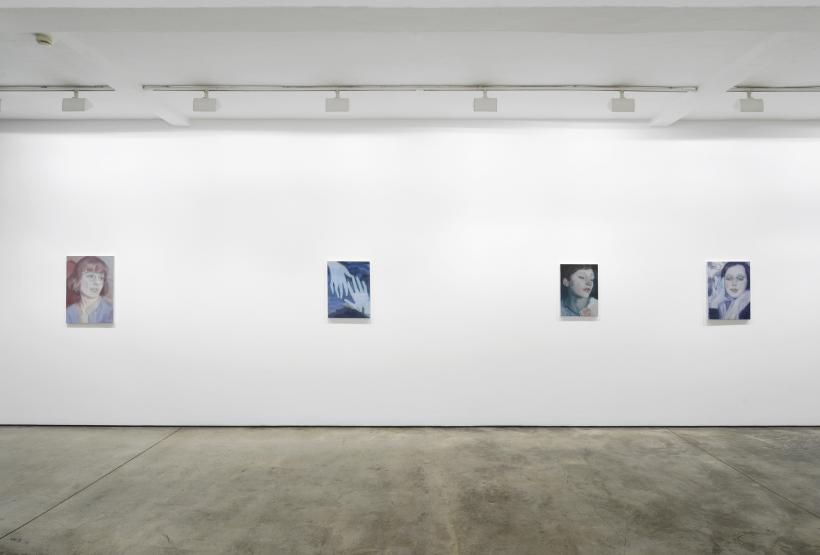 Kaye Donachie, Silent As Glass, exhibition view, Maureen Paley, London 2018