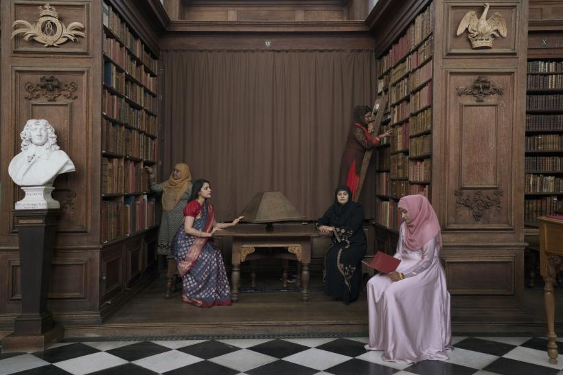 Melanie Manchot, The Ladies (Wren Library), 2017 Digital Chromagenic print