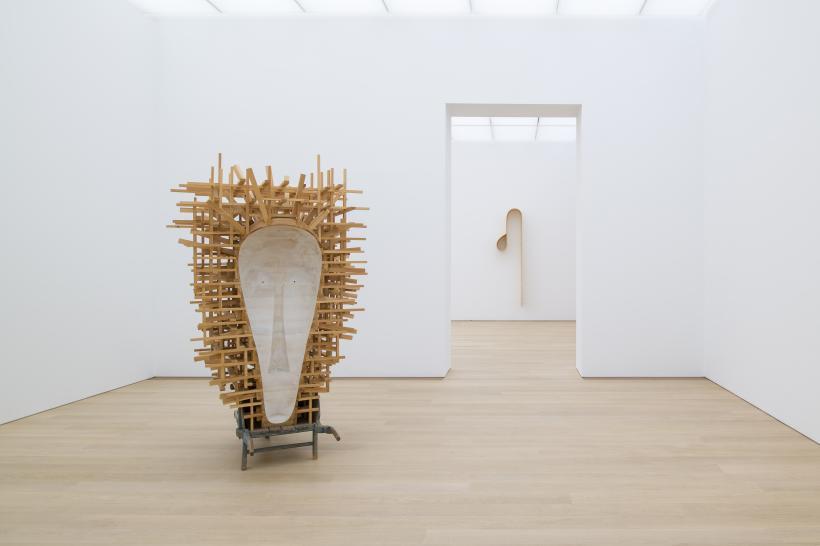 Martin Puryear 2018 Voorlinden Museum installation view