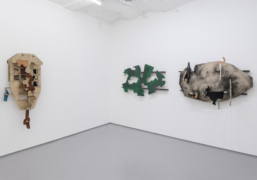 Installation view, Thomas Bang, States of discontinuity: New and recent work