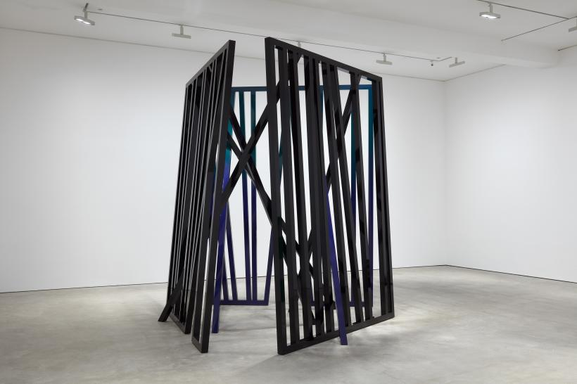 Eva Rothschild, Cosmos, 2018, installation view
