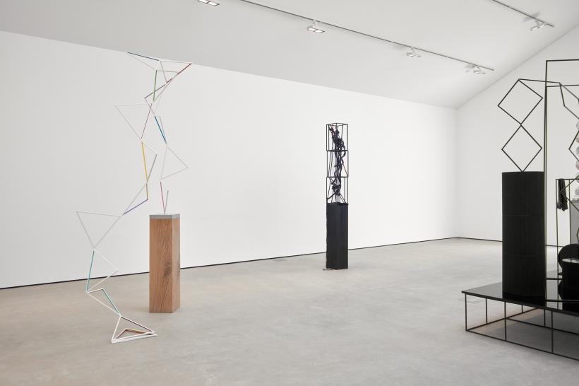 Eva Rothschild, Iceberg Hits, exhibition view, Modern Art, Vyner Street, London, 22 March - 5 May 2018