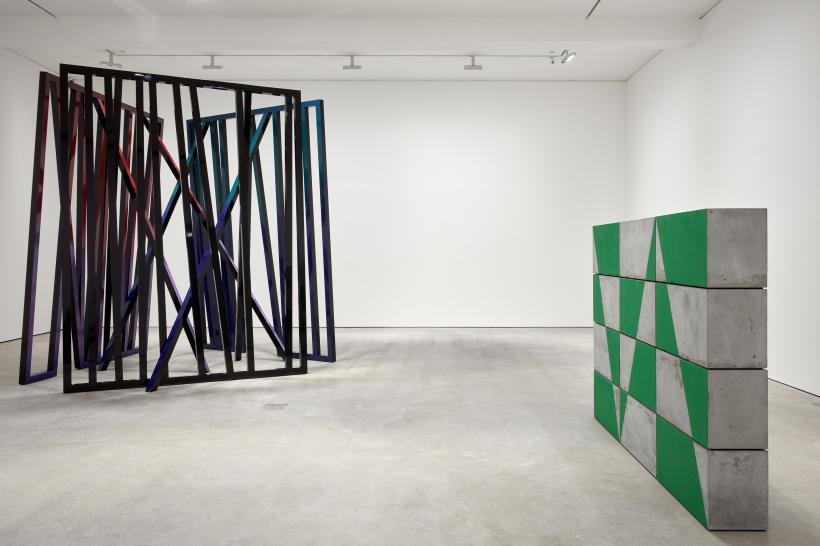 Eva Rothschild, Iceberg Hits, exhibition view, Modern Art, Vyner Street, London, 22 March - 5 May 2018