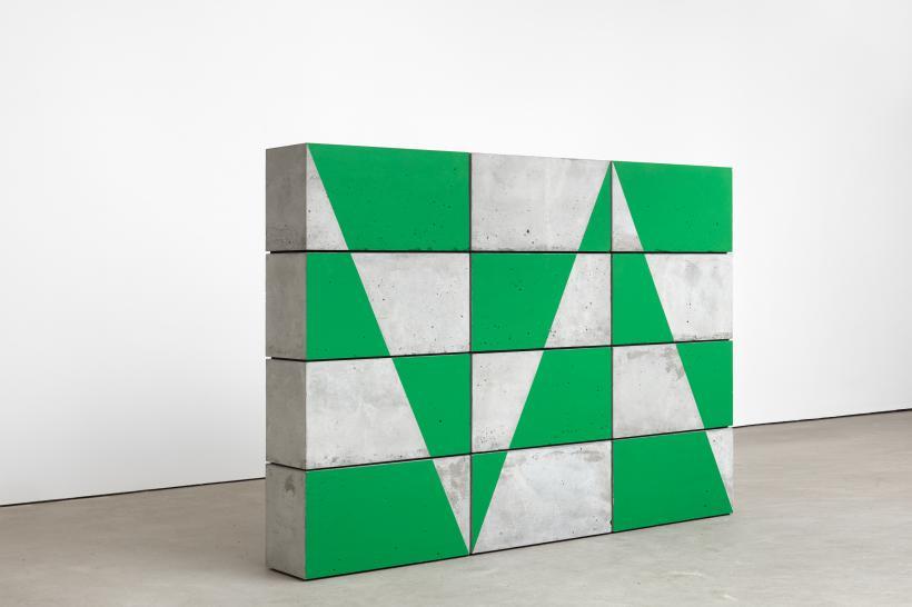 Eva Rothschild, Border, 2018, installation view