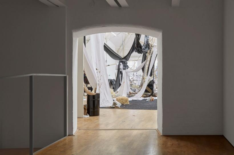 Cinthia Marcelle, The Family in Disorder: Truth or Dare installation view, 2018.