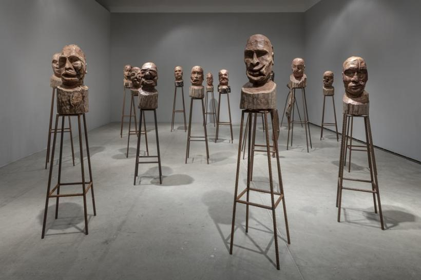 Kader Attia: The Field of Emotion. Installation view: The Power Plant, Toronto, 2018