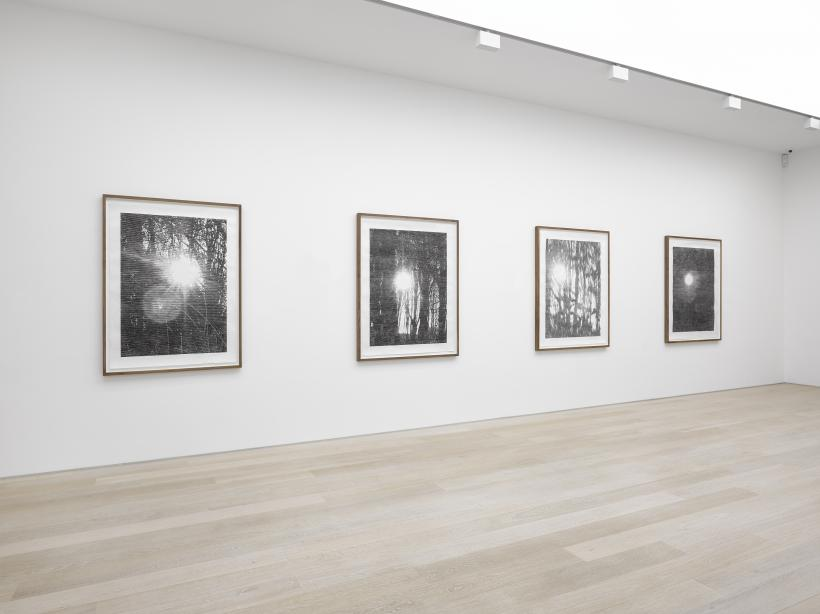 Christiane baumgartner liquid light installation view