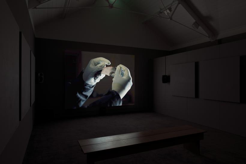 Listening in the Dark by Maeve Brennan as part of Jerwood / FVU Awards 2018: Unintended Consequences exhibition at Jerwood Space until 3 June