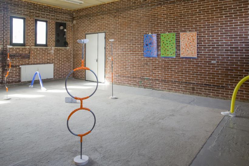 Mette Boel, Sunkissed, 2018, exhibition view, udstillingsstedet Spanien 19c, Aarhus.