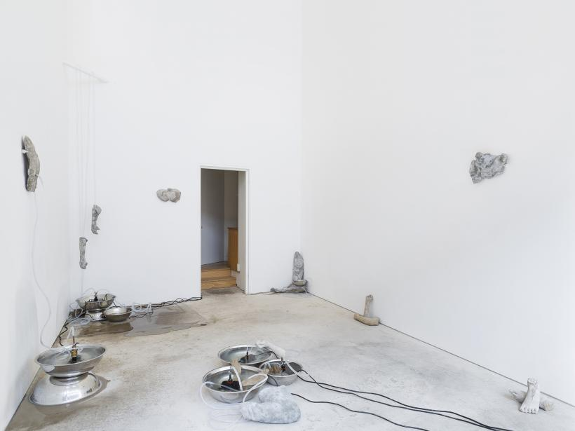 Alix Marie: La Femme Fontaine, installation view, Roman Road, London, 5 April - 20 May 2018.