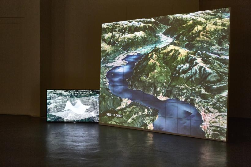 Installation view, Natur Blick, The Koppel Project