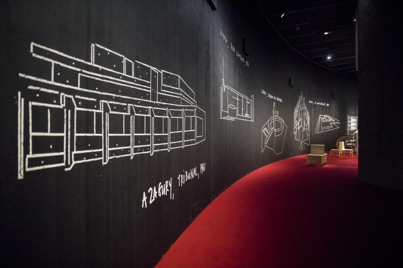 Yto Barrada: Agadir, Installation View, The Curve, Barbican Centre, 7 February - 20 May 2018
