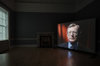 Amanda Dunsmore, John Hume, 2005; installation view, Dublin City Gallery The Hugh Lane
