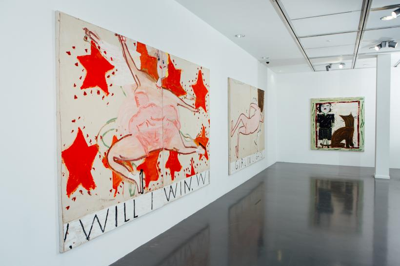 History Painting: Rose Wylie installation view