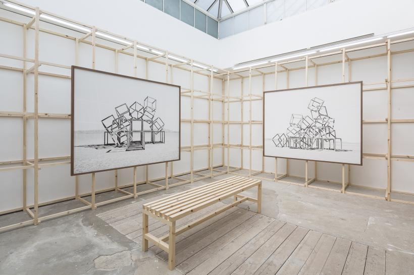 Noemie Goudal: Telluris installation view