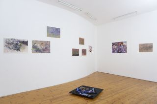 Maggie Roberts: Glimmer Breach Installation view