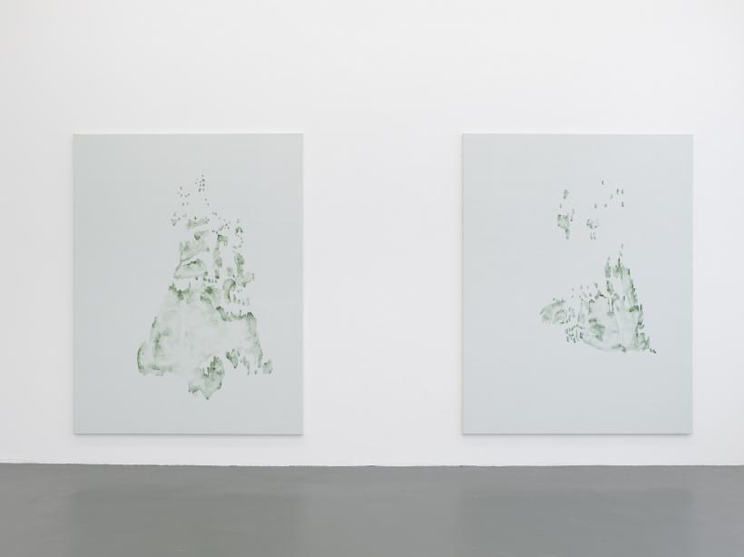 Irene Kopelman, Tree Lines A, B (2013) part of Irene Kopelman, a solo exhibition, Witte de With Center for Contemporary Art 2018