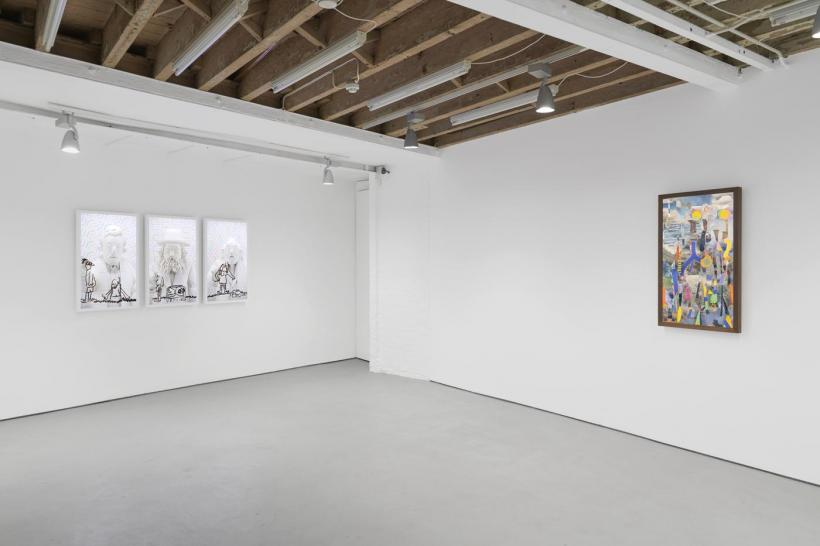 Brian Bress: Another Fine Mess installation view