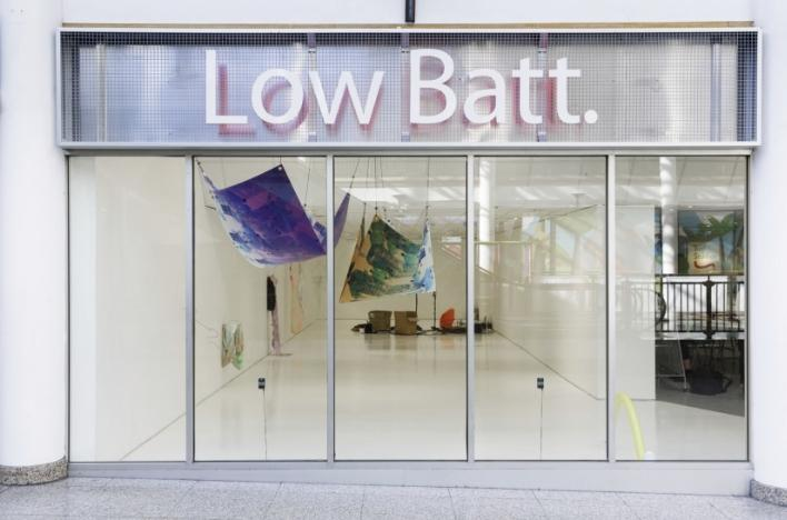 LOW BATT. installation view
