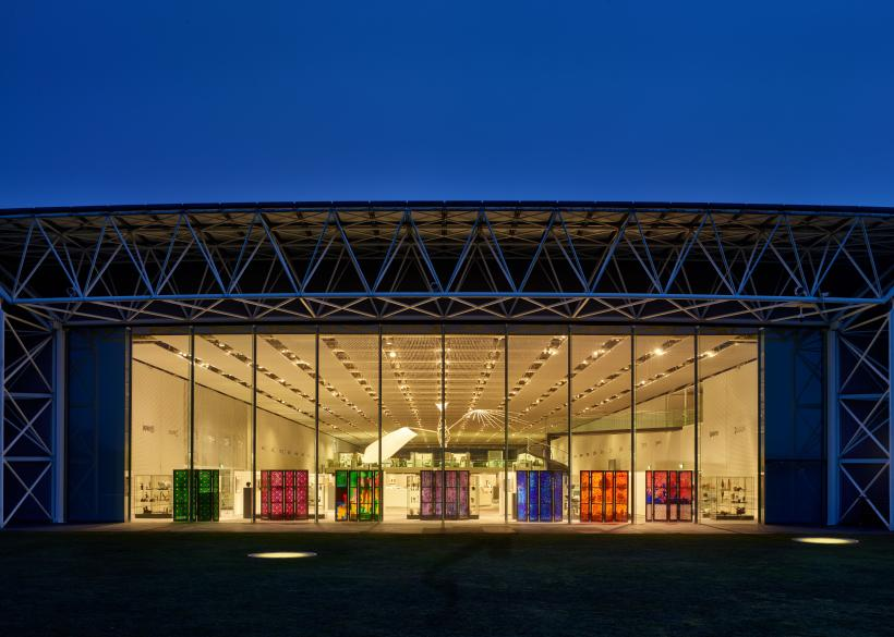 Brian Clarke: The Art of Light at the Sainsbury Centre, supported and organised in association with HENI