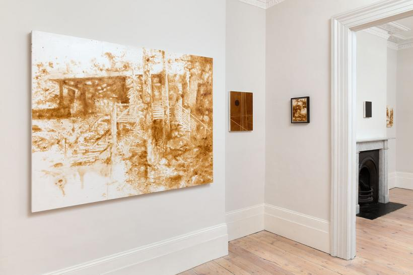 Graham Gussin: The Mary Jane Paintings installation view