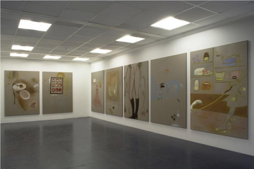 Maria Farrar: Eaves Deep installation view