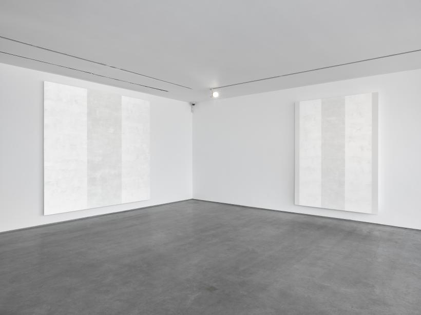 Mary Corse, installation view, Lisson Gallery London, May 2018