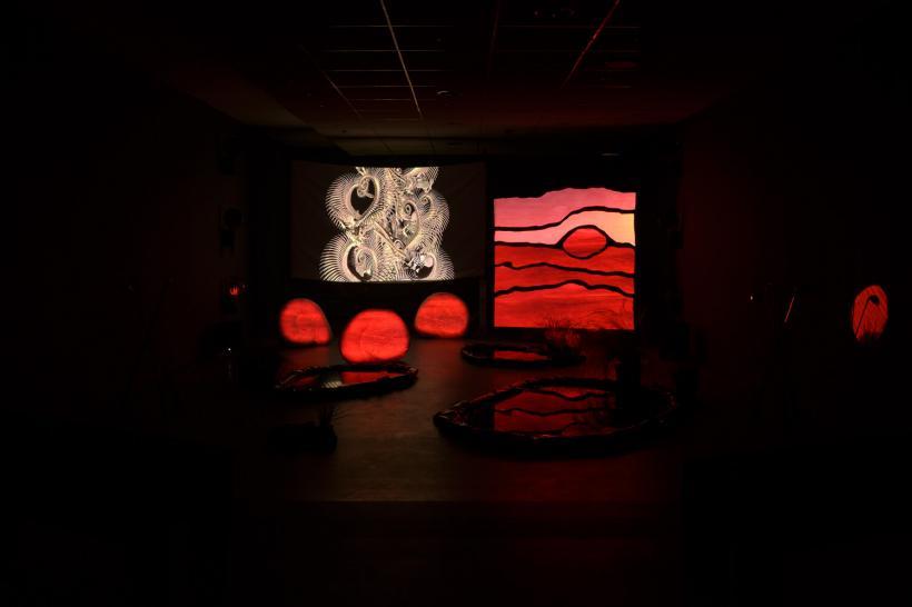 Hazel Brill: SHONISAURUS POPULARIS installation view