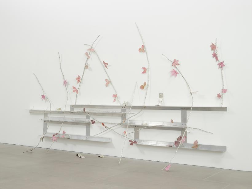 Natalie dray, installation view, kierkegaardashian, 2018, courtesy the artist and blainsouthern, photo peter mallet
