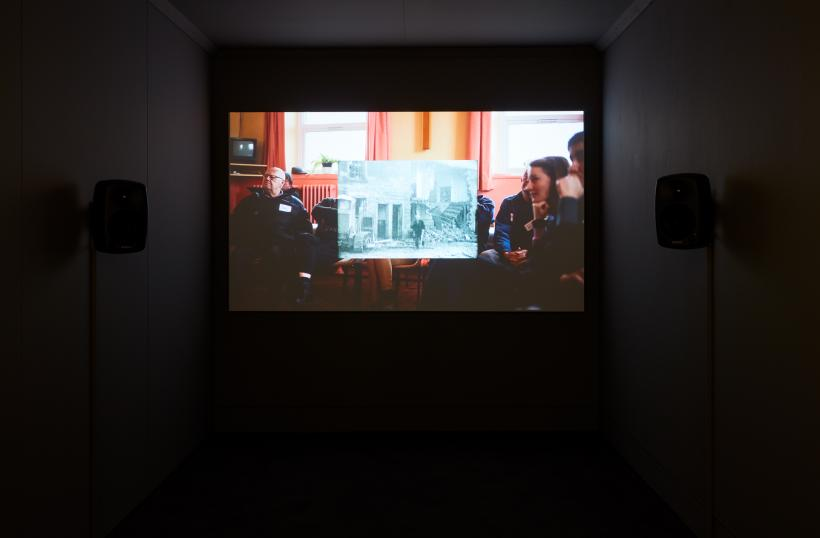 Installation View of Survey at Jerwood Space, London, 3 October - 16 December 2018.