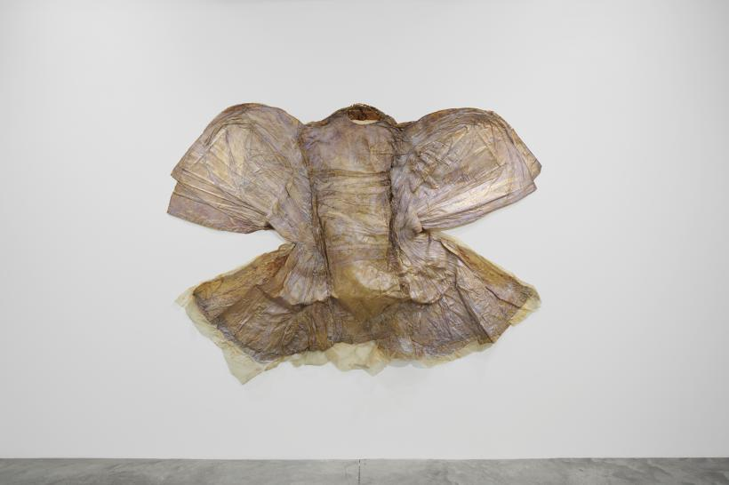 Heidi Bucher, installation view at Parasol unit, London, 2018.