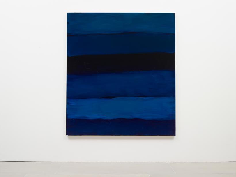 Sean Scully, Landline Near Blue, 2018