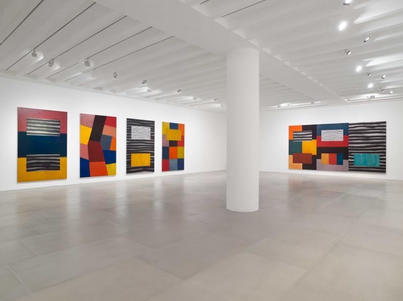 Sean Scully, Uninsideout, 2018, Installation view