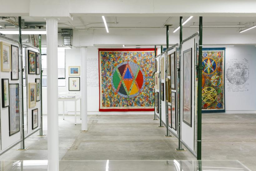 Jamie Reid: XXXXX: Fifty Years of Subversion and the Spirit installation view