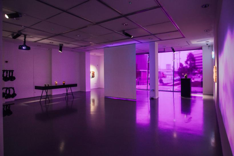 Simon Bayliss: Meditations in an Emergency installation view