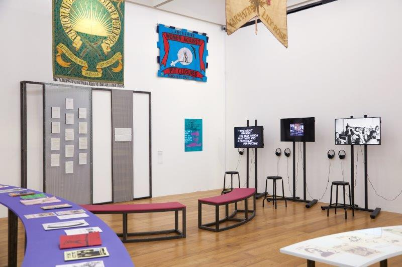 Installation view of Still I Rise: Feminisms, Gender, Resistance, Oct 2018 - Jan 2019, Nottingham Contemporary.