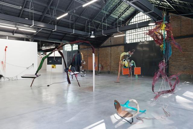 Julien Creuzet, Halle de la Courrouze, Les Ateliers de Rennes