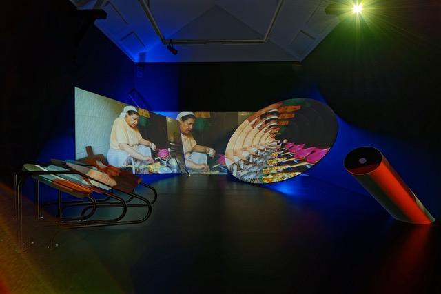 Meriem Bennani, La Criee centre d'art contemporain, Les Ateliers de Rennes