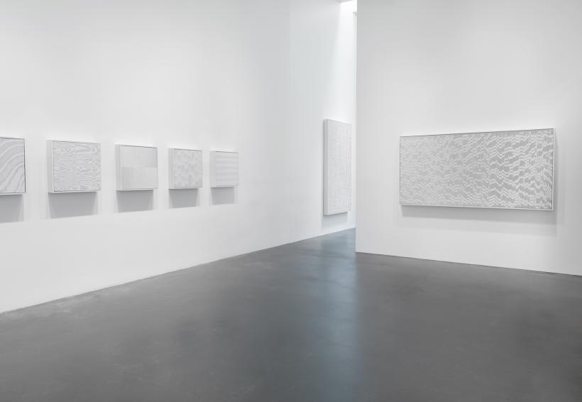 Installation view, Tara Donovan: Fieldwork