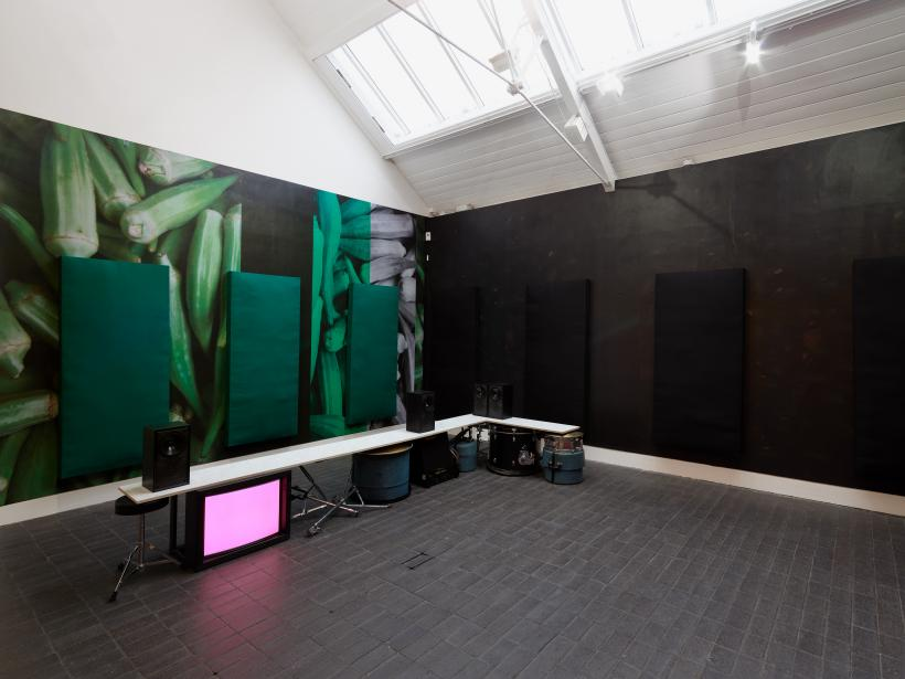 Appau Jnr Boakye-Yiadom, Jerwood Solo Presentations 2019, installation view