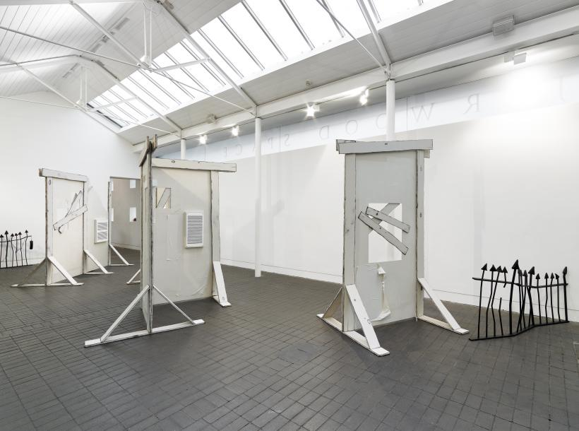 Kitty Clark, Jerwood Solo Presentations 2019, install view