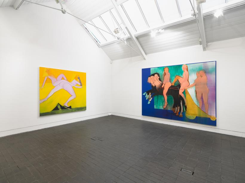 Sofia Mitsola, Jerwood Solo Presentations 2019, installation view
