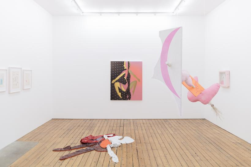 Shapeshifters, installation view at The Approach, 2019
