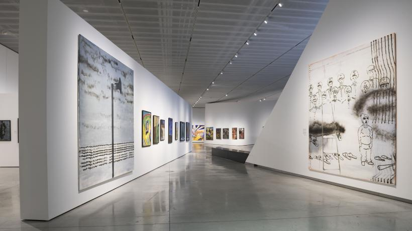 Installation view, All Art is About Us exhibition, MO Museum, Vilnius.