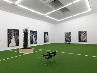Installation view, Matthew Day Jackson, Pathetic Fallacy, Hauser & Wirth Somerset, 2019