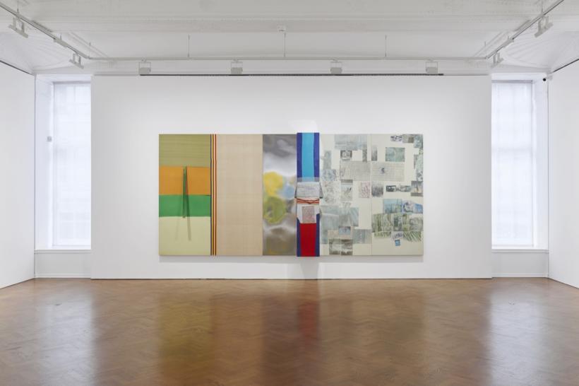 Robert Rauschenberg: Spreads 1975-83 installation view