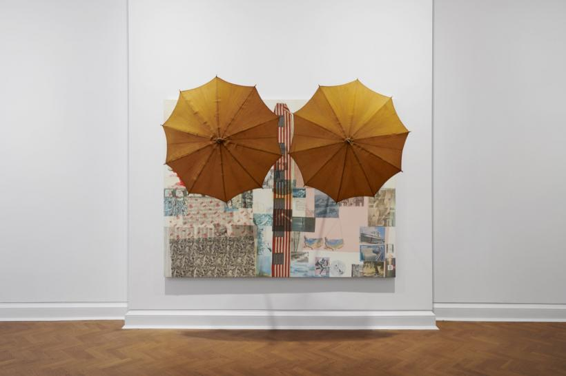 Robert Rauschenberg: Spreads 1975-83 installation view