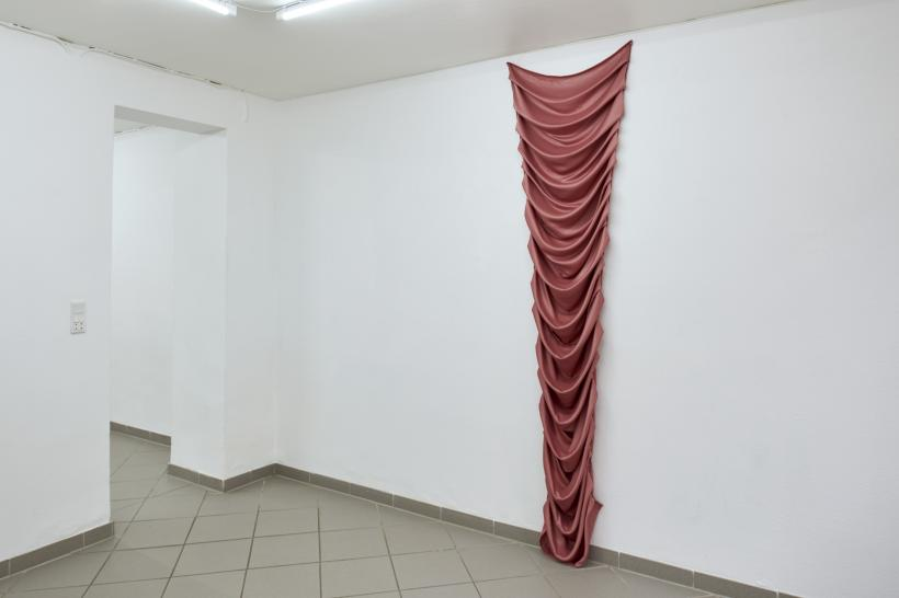 Louise Sparre, Fabric Object, 2019, satin