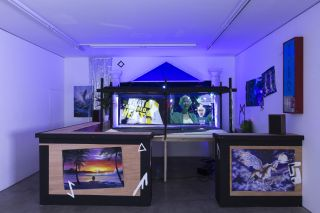 Funda Gul Ozcan, It Happened as Expected, 2018, Four channel video installation, looping, Dimensions variable